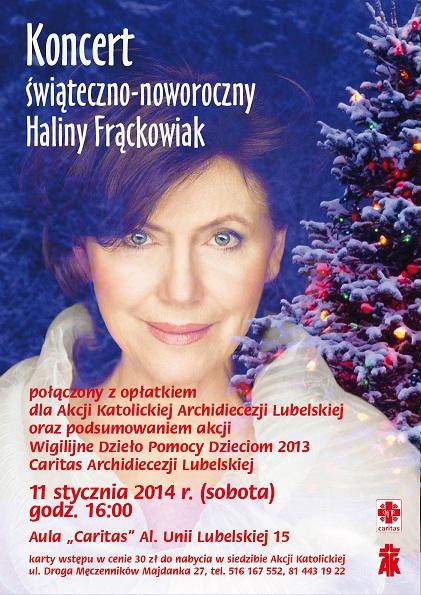 Koncert Haliny Frąckowiak